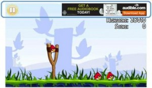 Angry Birds Mobile Game Industry Advertising In Action