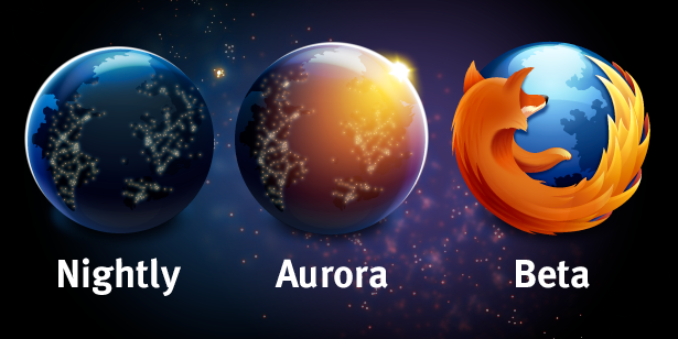 Mozilla Firefox Release Stages