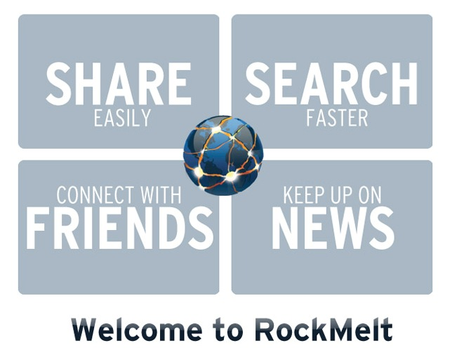 Welcome to RockMelt Beta 3