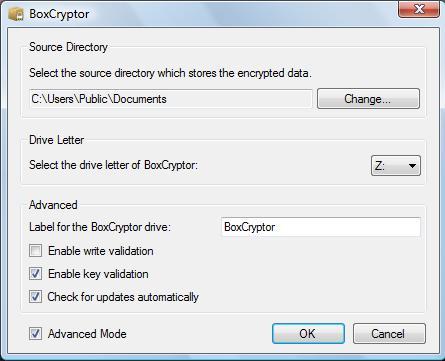BoxCryptor Source Directory