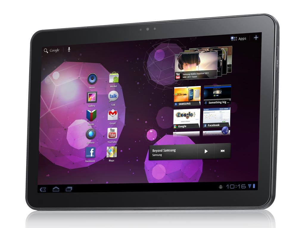 Samsung Galaxy Tab 10.1 Android Tablet