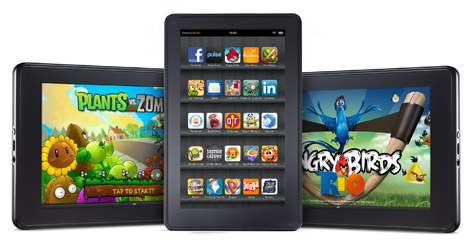 Amazon Kindle Fire - Apps