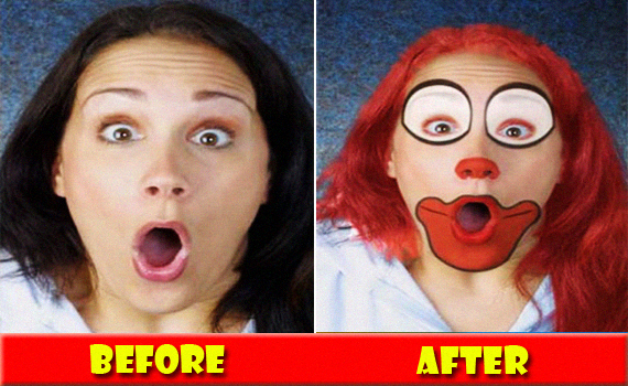 1 Funny Face Manipulation