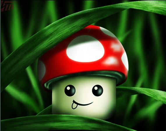 10 Funny fungus