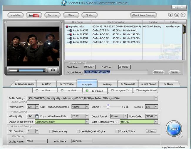 HD Video Converter Deluxe
