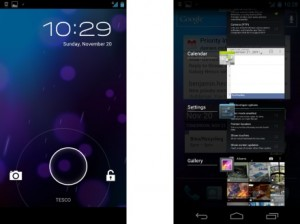Samsung Galaxy Nexus Multitask