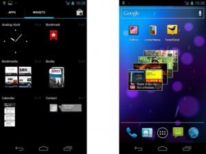 Galaxy Nexus Widgets