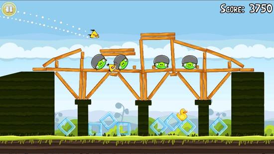 Angry Birds Bridge