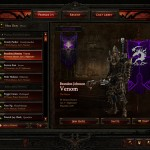 Diablo 3 Friends List Interface