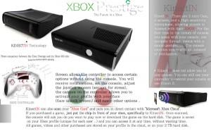 Xbox Mock-up