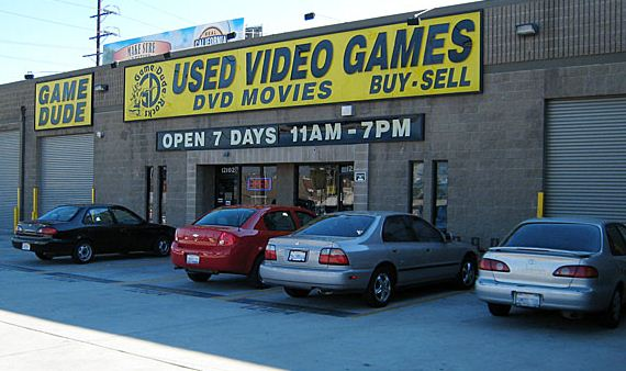 Used Game store