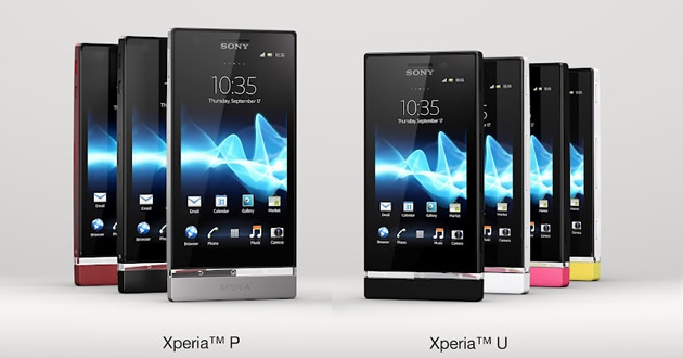 Sony Xperia P and Sony Xperia U