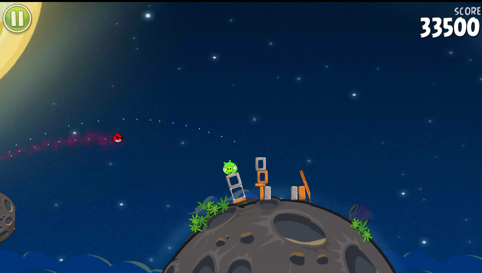 Angry Birds Space Bird Flying