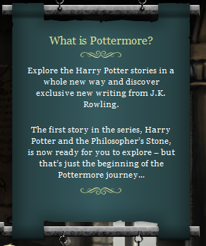 What is Pottermore?