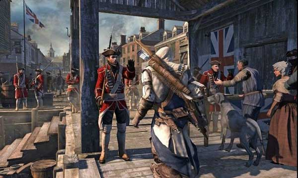 Assassin's Creed 3 Setting