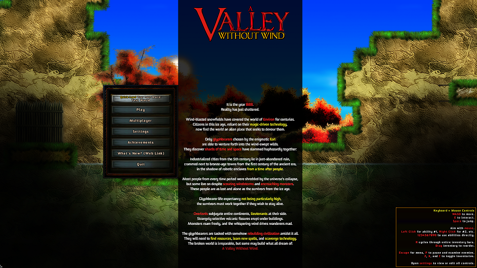 Indie Game of the Week: A Valley Without Wind