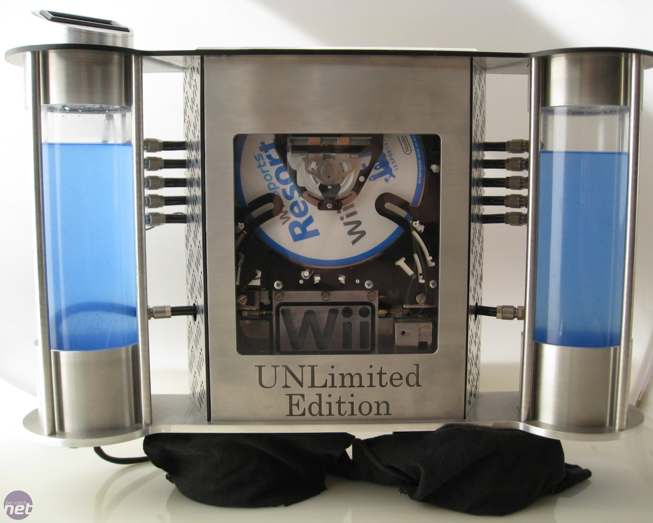 Nintendo Wii Unlimited Edition Case Mod