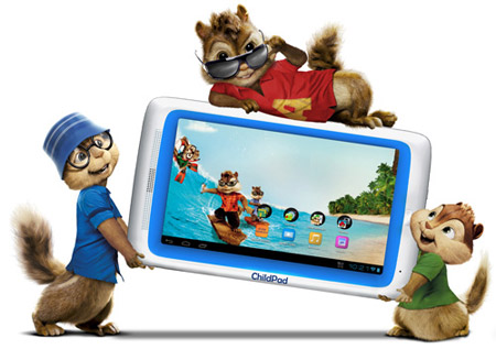 ARNOVA Archos Child Pad With Alvin And The Chipmunks