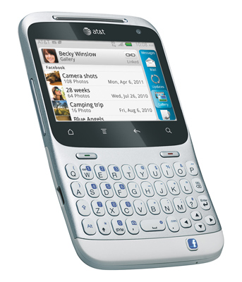 The Original Facebook Phone, The HTC Status