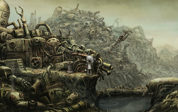 Machinarium Opening Scene