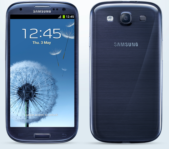 Samsung Galaxy S3 Pebble Blue