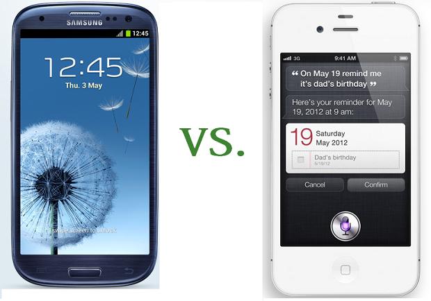 Samsung Galaxy S3 vs. Apple iPhone 4S