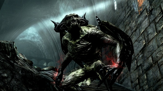 Dawnguard Skyrim Expansion- That's One Scary Looking Vampire Lord