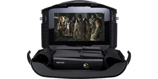 GAEMS G155 With Microsoft Xbox 360 4GB & Special GOW Design