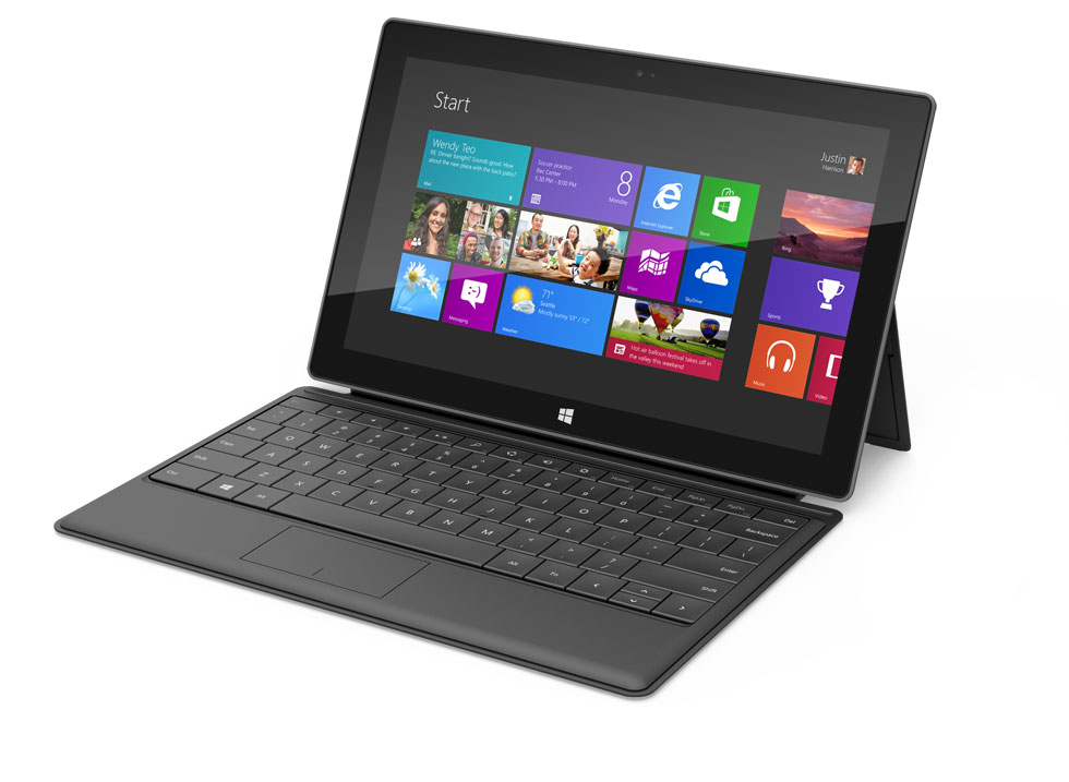 Microsoft Surface Windows 8 Tablet Black