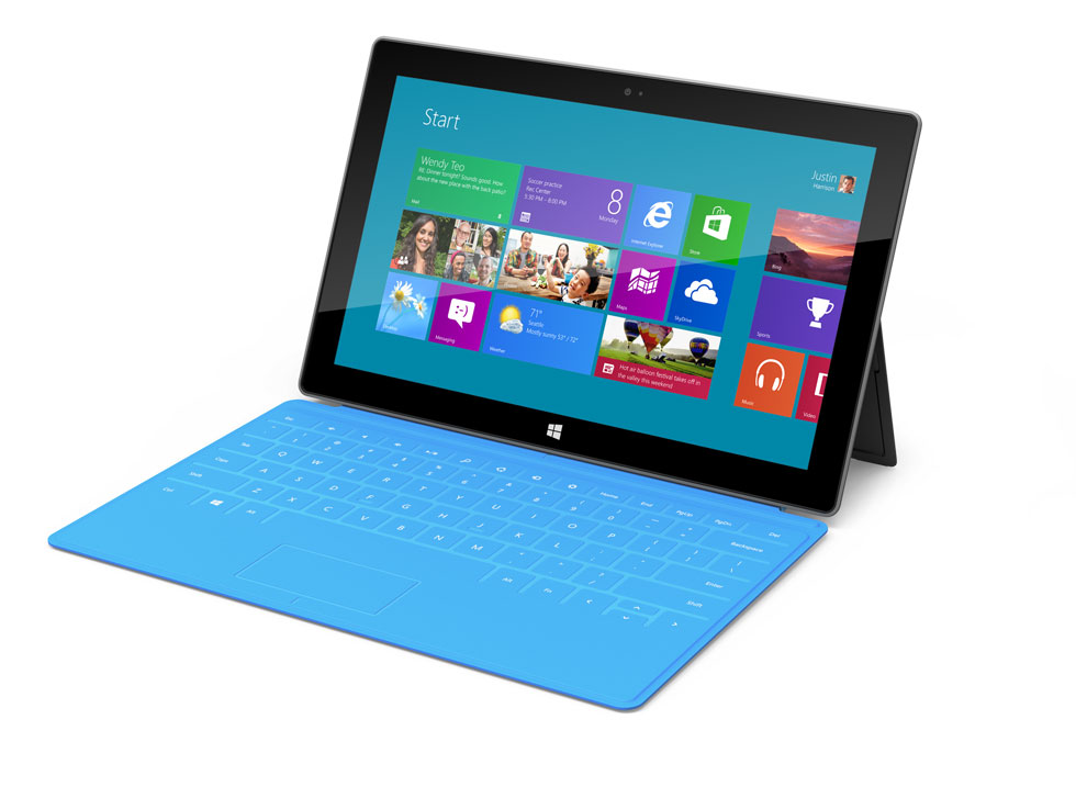 Microsoft Surface Windows 8 Tablet With Magnetic Case