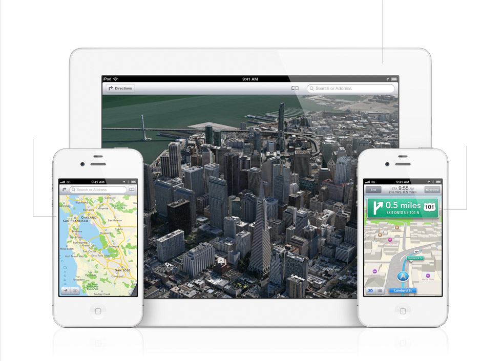 Proprietary Maps App For iOS 6