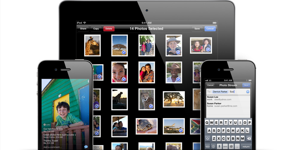 Shared Photo Streams in iOS 6