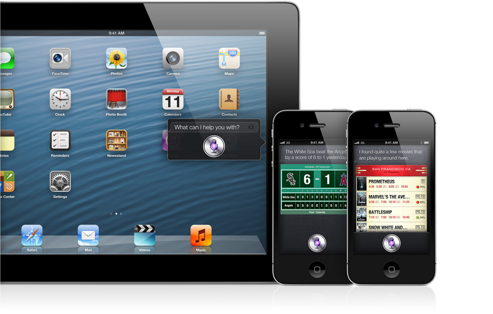 Siri Expands in iOS 6