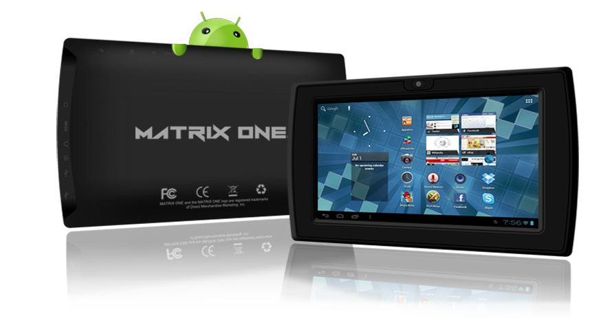 The Matrix One, a $99 Android 4.0 Tablet