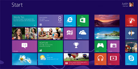 Windows 8 Xbox Game Service