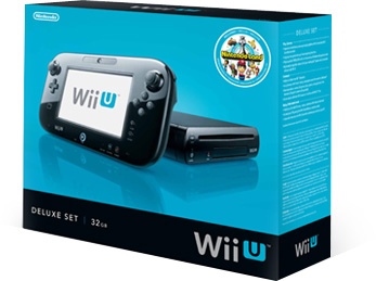Wii-U Deluxe Retail Box