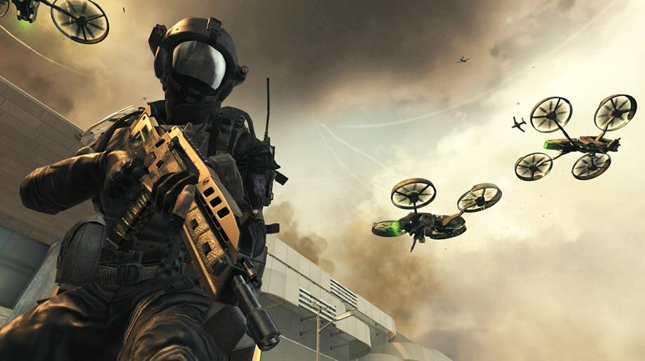 Black Ops II Campaign Quadrotors on Overwatch