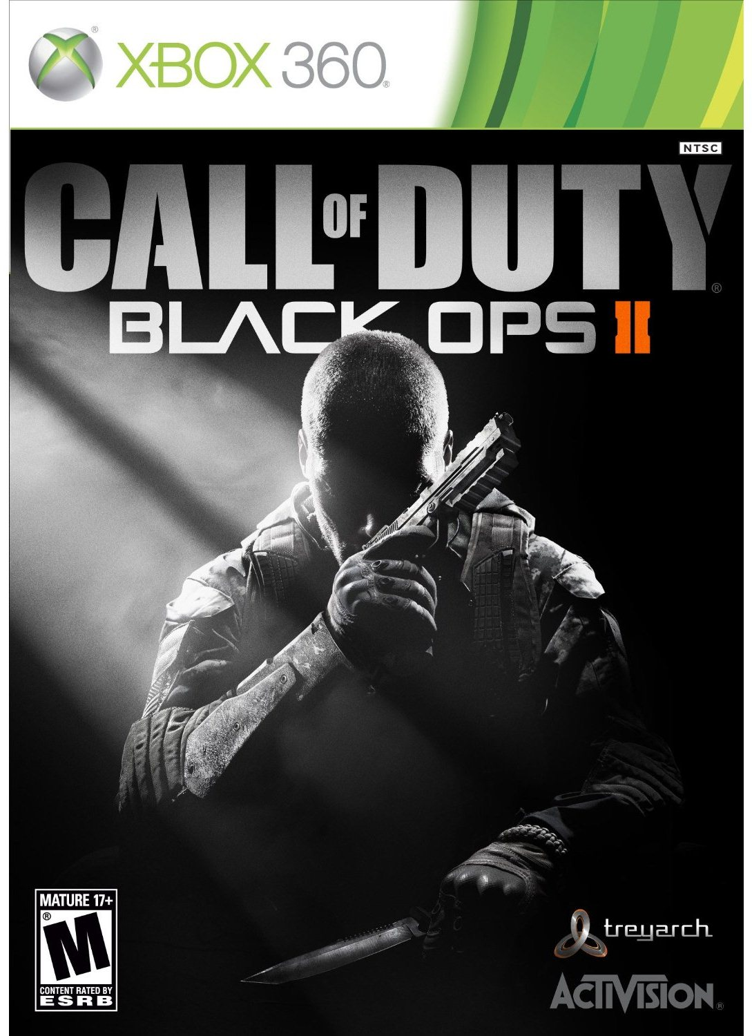 Black Ops II Cover Art