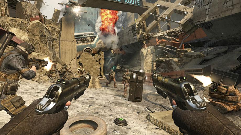 Call of Duty Black Ops II Dual Wielding