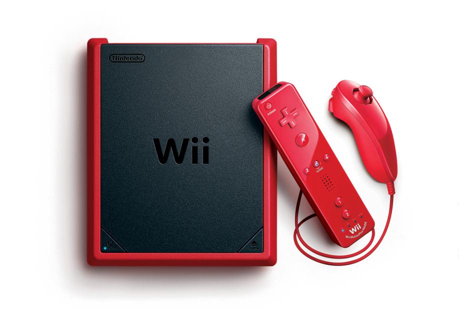 Nintendo Wii Mini With Controllers