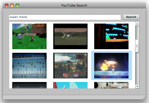 Figure 1-1. Just the YouTube search