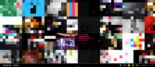 Flash Portfolio of Media Arc