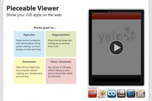 Pieceable Viewer iPhone Application Builder