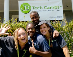 Internal Drive Technology Camp Students On Campus