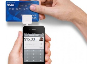 Square Register Transaction Services Application in use