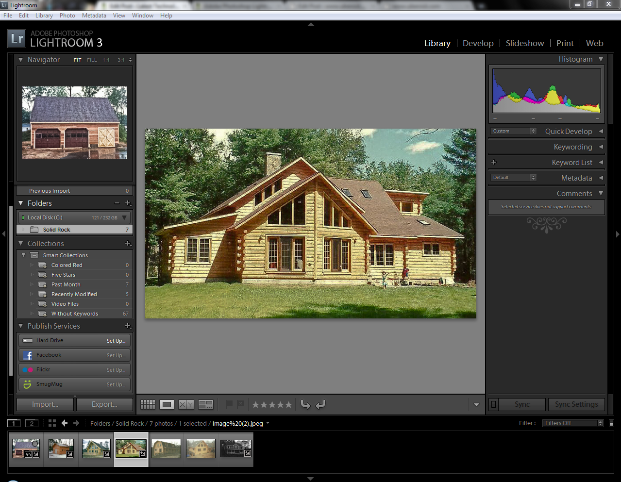 Adobe Photoshop Lightroom 3 Library