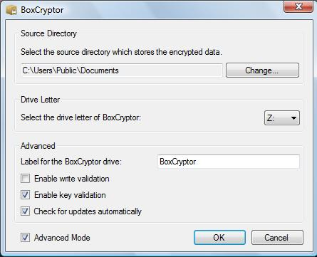 BoxCryptor Source Directory
