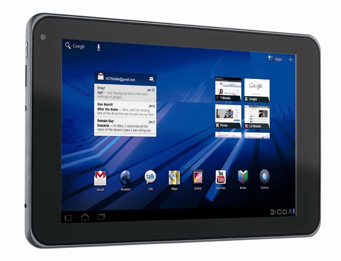 LG G-Slate Android Tablet