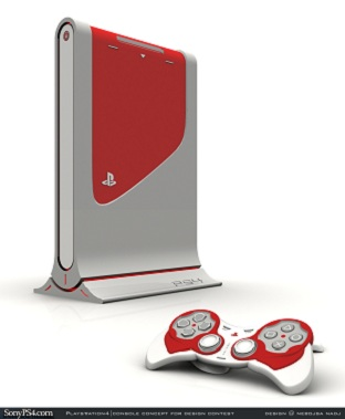 Sony PlayStation 4 Concept Design