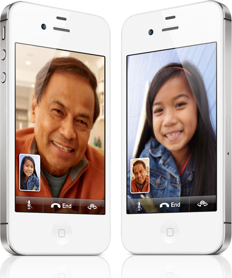 iPhone 4S FaceTime
